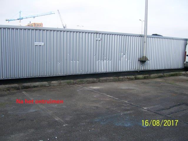 Holland Herstel Groep - parkeerdek schoonmaken