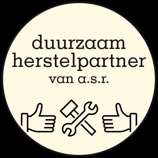 logo duurzaam herstelpartner van a.s.r.