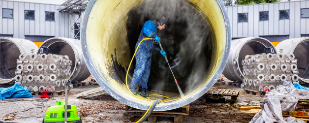 Foto specialistische reiniging Holland Herstel Groep