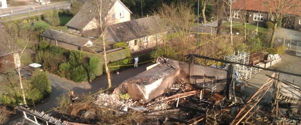 Asbest bij calamiteit